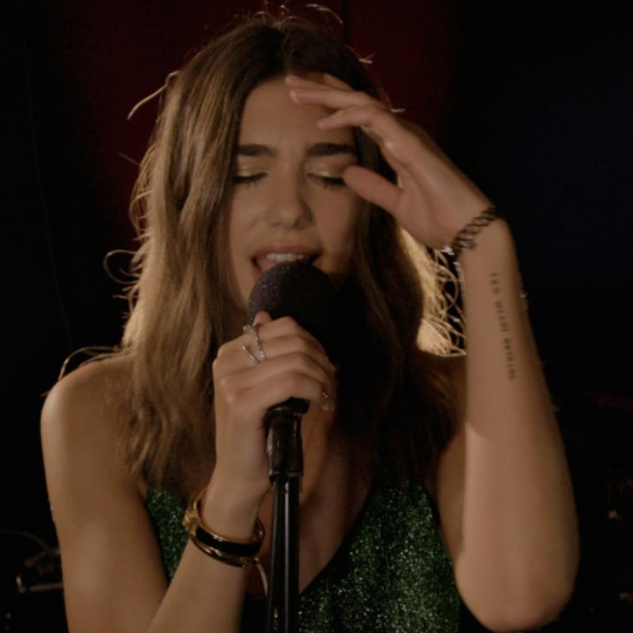 Dua Lipa's Live Session 'Be The One'