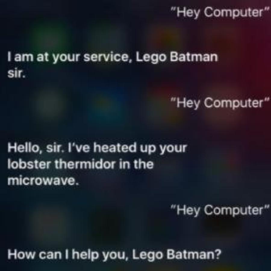 Batman Siri Responses