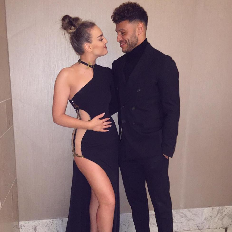 Perrie Edwards and Alex Oxlade-Chamberlain spark pregnancy rumours
