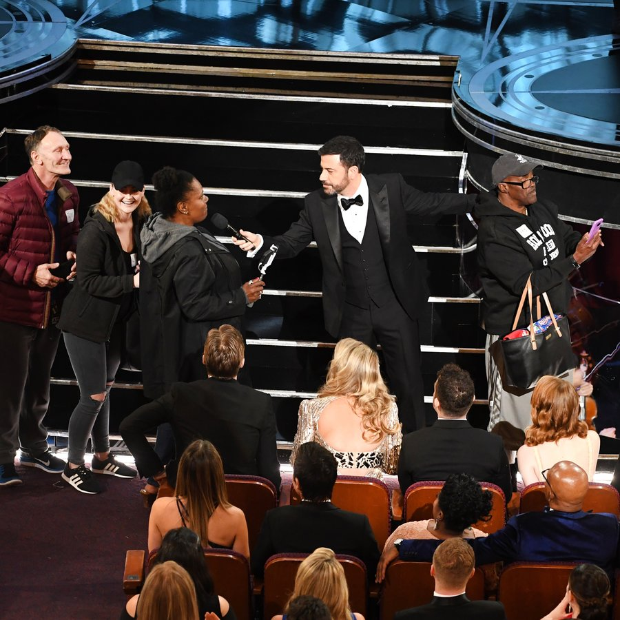 Jimmy Kimmel's Tourists 89th Annual Academy Awards