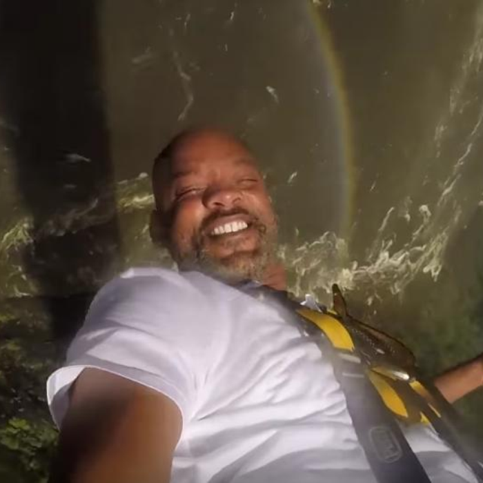 Will Smith looks just like Uncle Phil in this skydiving selfie