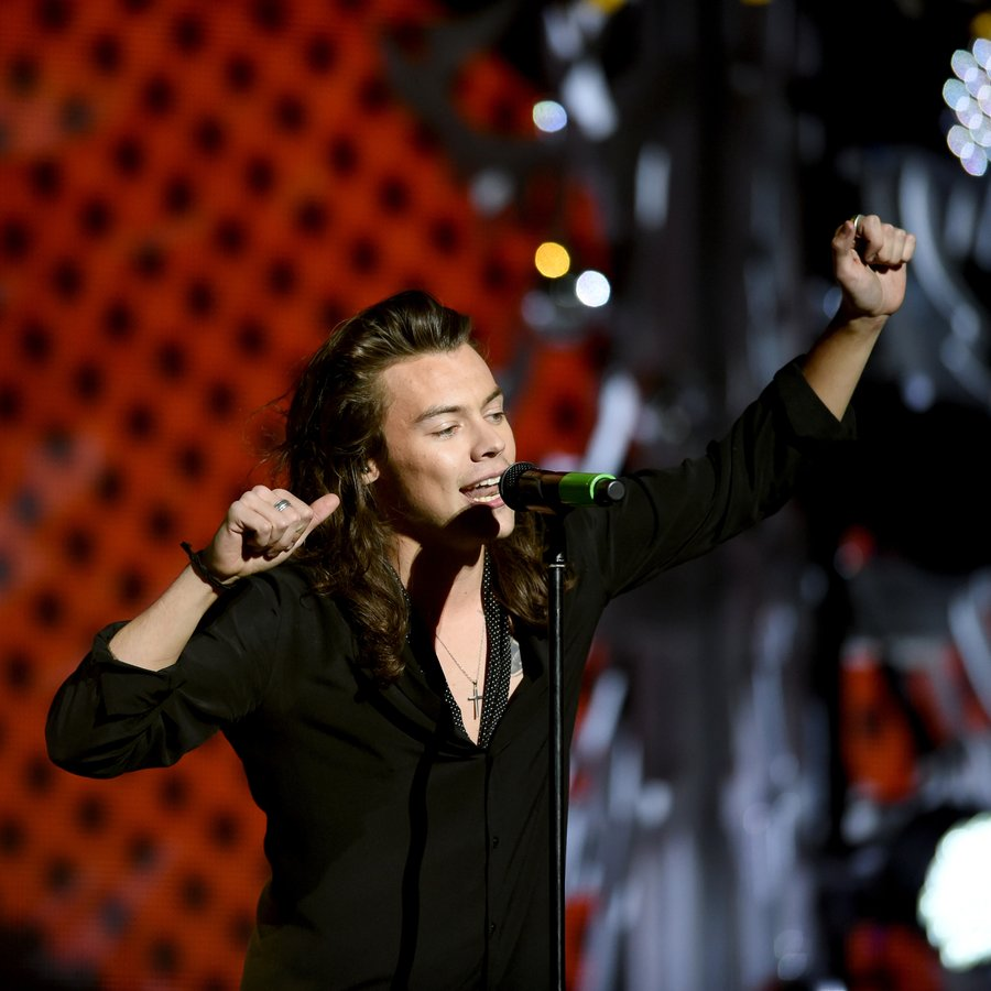 Harry Styles 106.1 KISS FM's Jingle Ball 2015