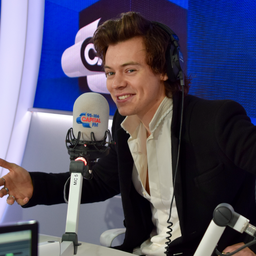 Harry Styles Had a Busy Night on 'The Late Late Show'