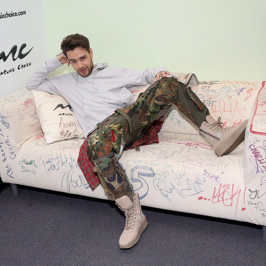 Liam Payne admits that his trousers are actually C