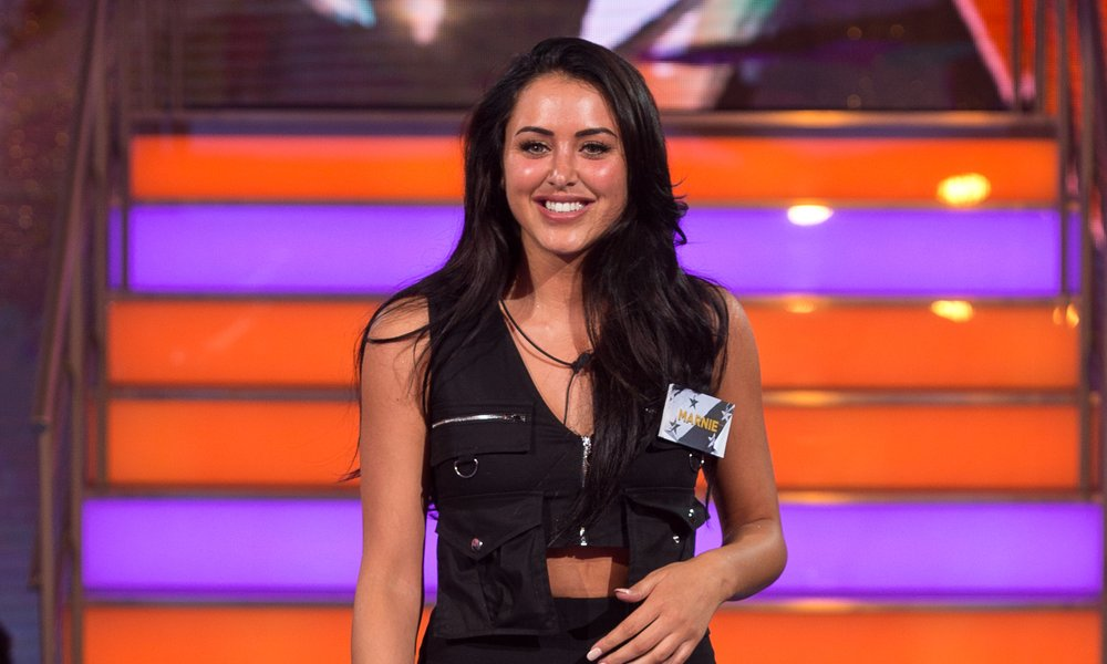 Marnie Simpson Celebrity Big Brother - Launch Night