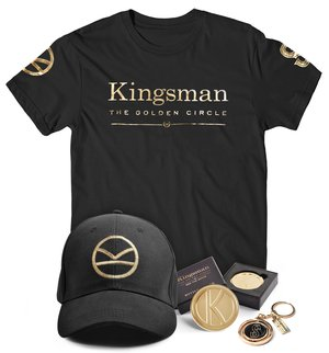 Kingsman the golden circle, prize pack, win