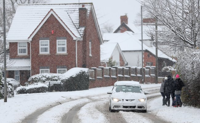 Snow and ice warning for West Sussex