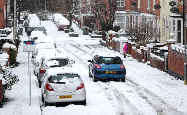 SNOW: West Midlands Under Blanket Of Snow