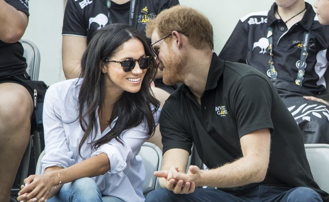 Credit PA- Prince Harry And Meghan Markle At The Invictus Games In Toronto