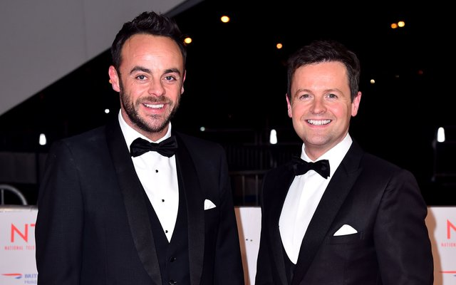 Ant McPartlin charged with drink-driving after vehicle crash