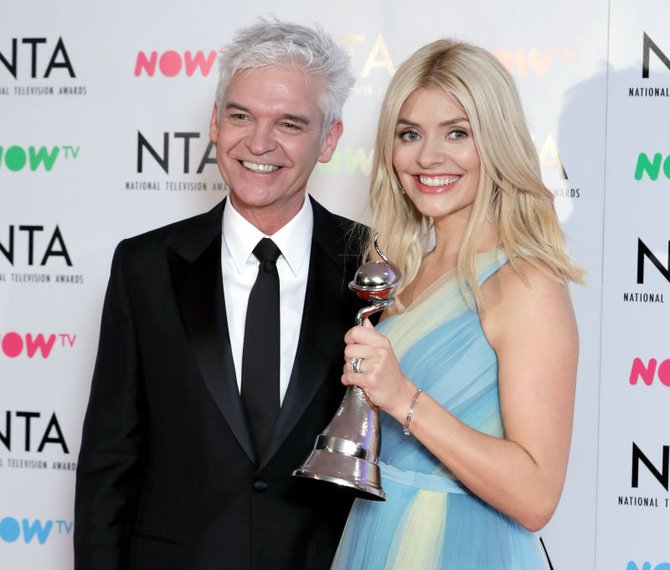 Holly Willoughby, Phillip Schofield, ITV