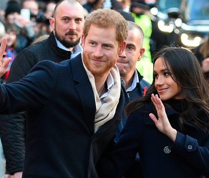 Extreme security measures for Harry and Meghan's wedding