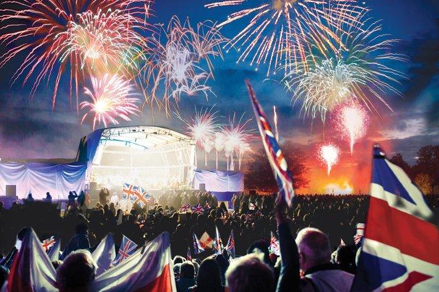 Battle Proms fireworks 2018