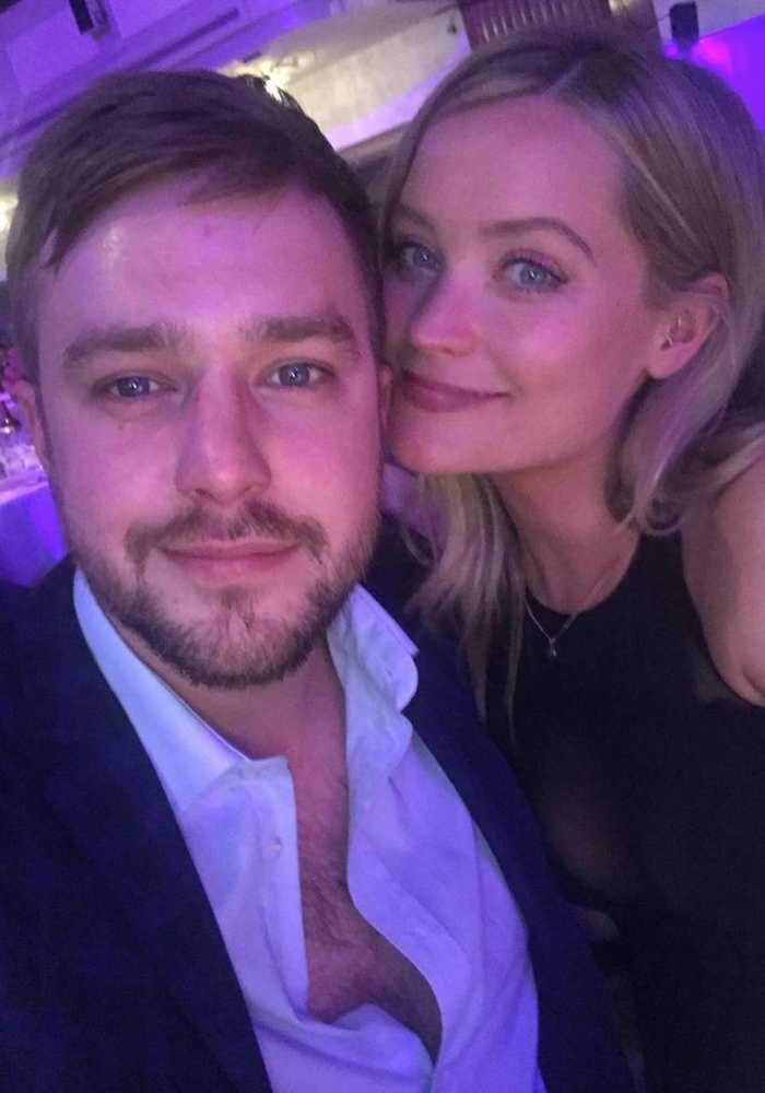 Love Island Iain Stirling and Laura Whitmore