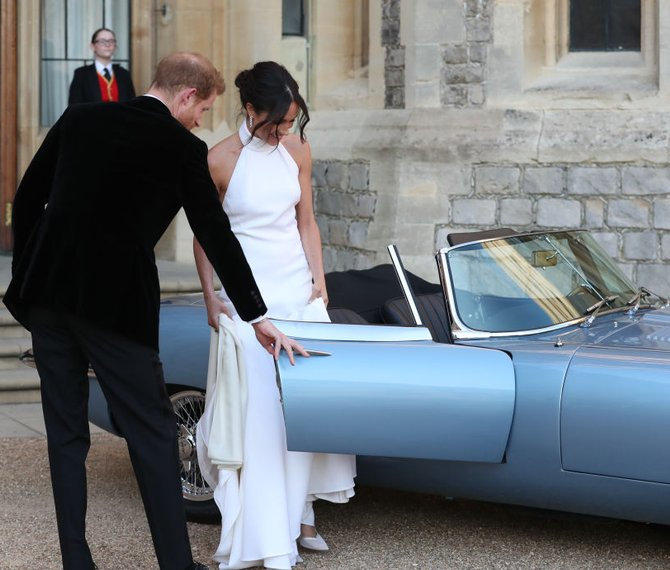 Prince Harry Whisks Meghan Markle Away For Royal Wedding