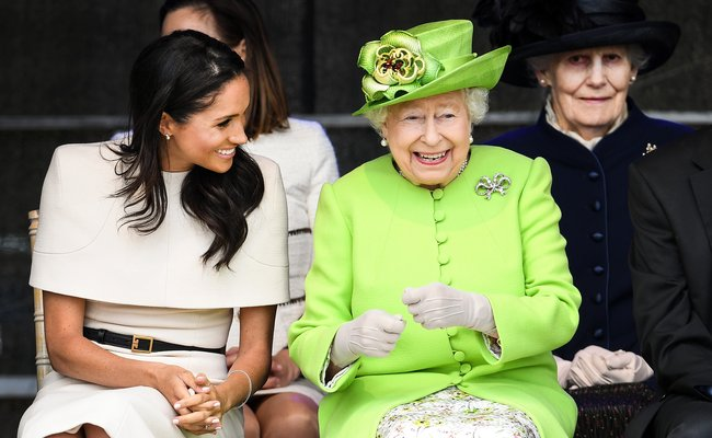 The Queen breaks her own protocol for Meghan Markle