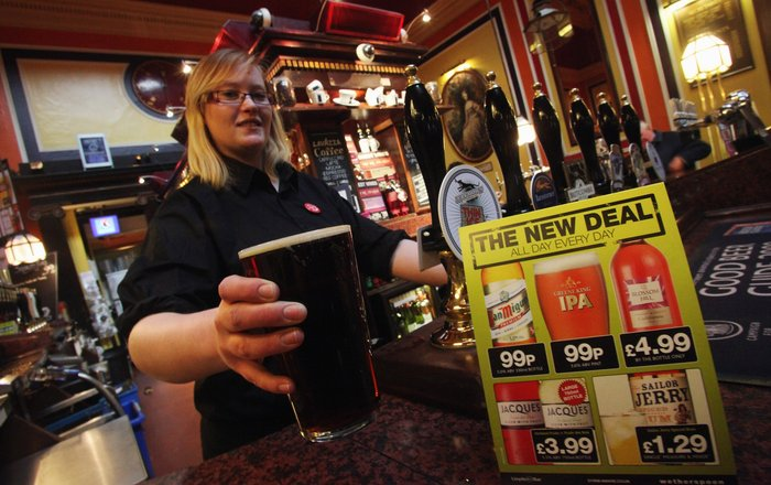 Wetherspoon is Selling More UK Drinks in Run Up to Brexit