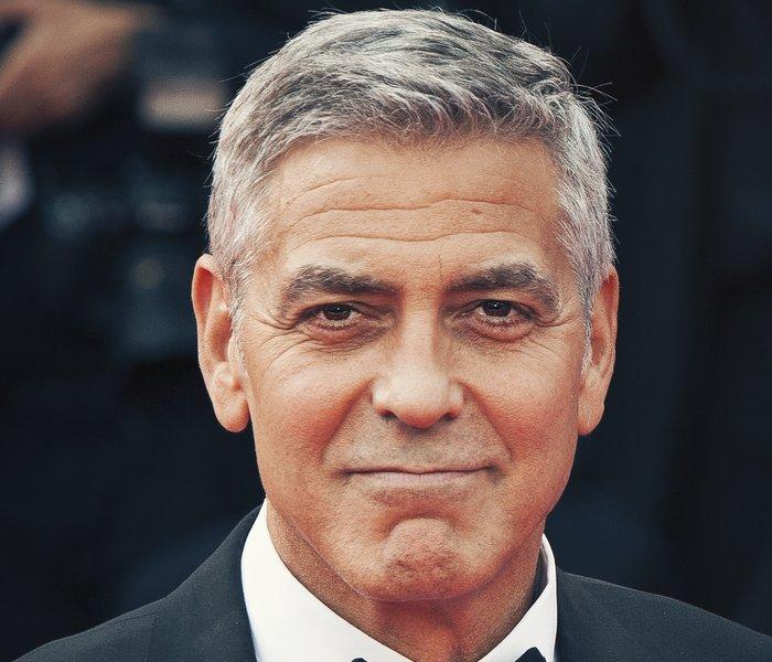 George Clooney injured in bike crash
