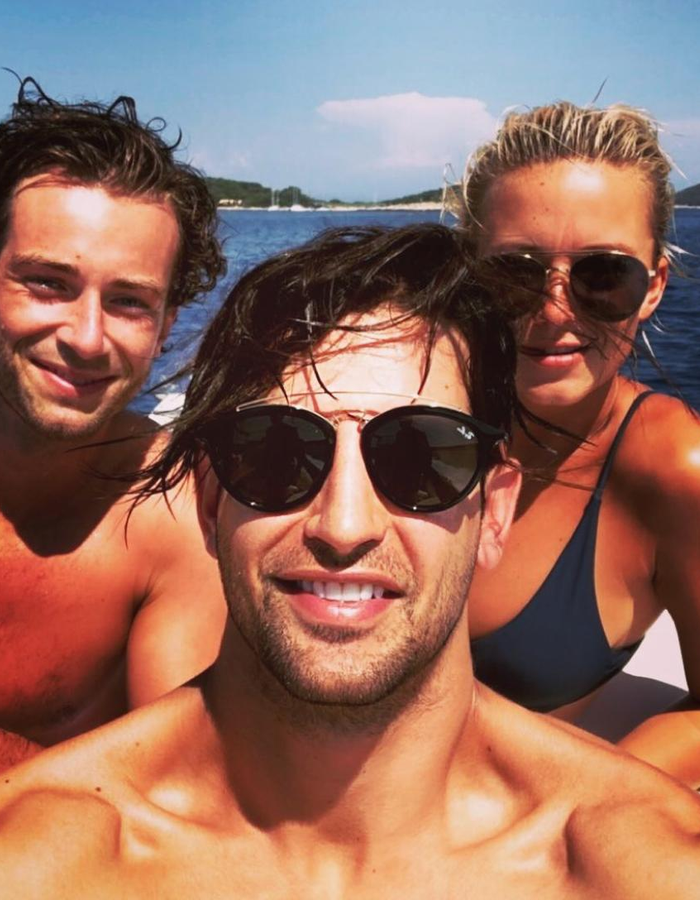 Ollie Locke and Made In Chelsea cast