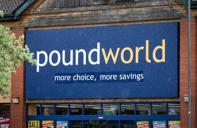 Poundworld To Disappear From High Street As Final Store
