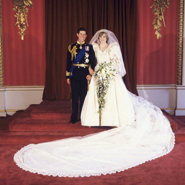 Princess Diana Had A Second Secret Wedding Dress For Her