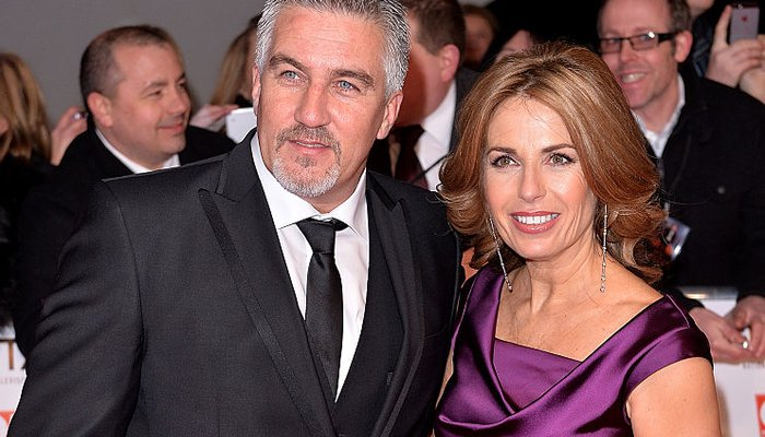Paul Hollywood and ex wife Alex