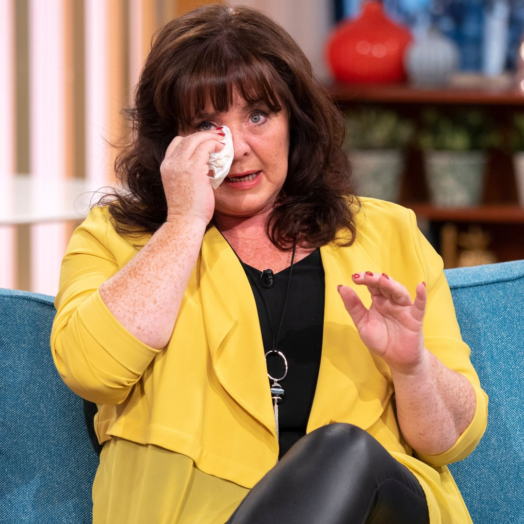 Coleen Nolan breaks down in tears over abuse after Kim Woodburn row