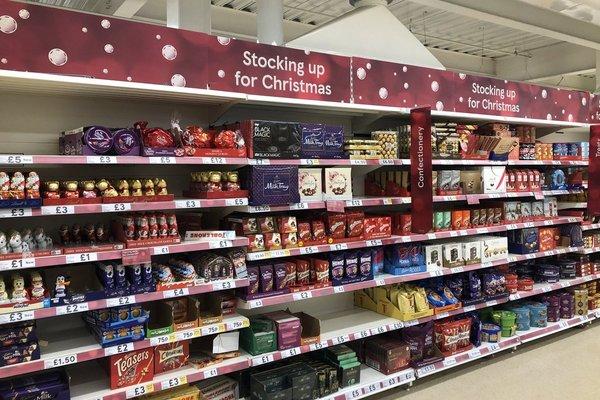 tesco has unveiled its christmas stock already - Stuff For Christmas