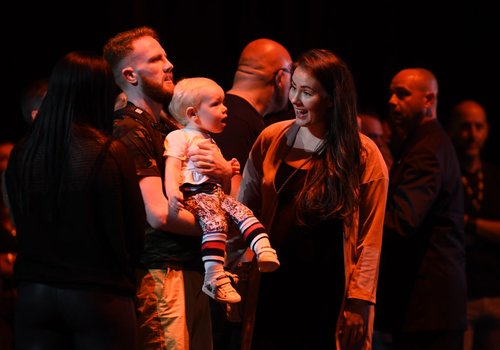 Conor McGregor and Dee Devlin have welcomed their second child